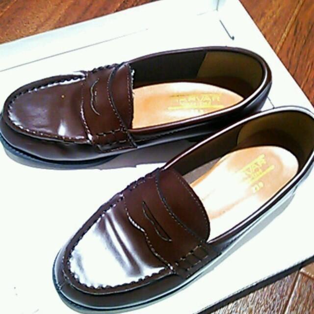 【あめり様へ】定番ローファー(ブラウン) レディースの靴/シューズ(ローファー/革靴)の商品写真