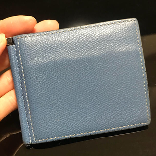 ヴァレクストラ(Valextra)のヴァレクストラマネークリップ付き財布(折り財布)