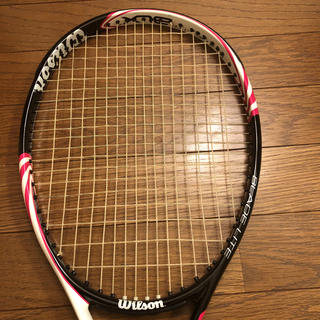 ウィルソン(wilson)の専用!Wilson 硬式テニスラケット(ラケット)