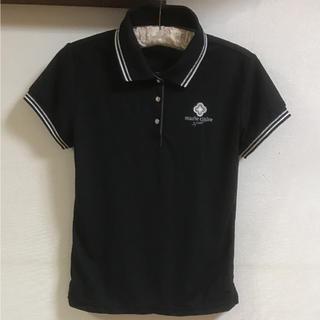 マリクレール(Marie Claire)のマリー クレール スポーツ 黒のポロシャツ L(ポロシャツ)