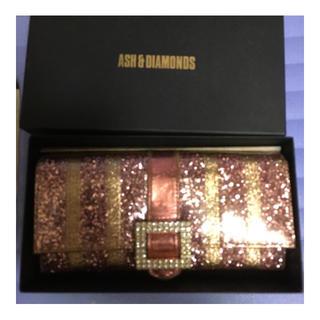アッシュアンドダイアモンド(ASH&DIAMONDS)のアッシュアンドダイヤモンド 長財布 グリッター(財布)