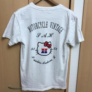 シンイチロウアラカワ(SHINICHIRO ARAKAWA)のshinichiro arakawa × hello kitty コラボTシャツ(Tシャツ(半袖/袖なし))