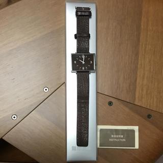 ムジルシリョウヒン(MUJI (無印良品))の無印 時計(腕時計)