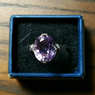 菫色のヴィンテージリング(リング(指輪))