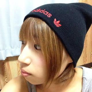 アディダス(adidas)のadidas☆ニット帽(ニット帽/ビーニー)
