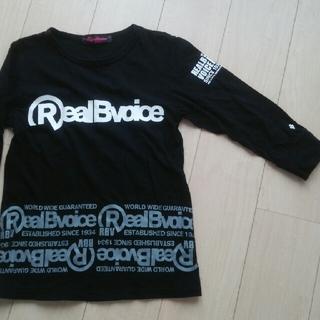 リアルビーボイス(RealBvoice)のReal B voice  7分袖 Tシャツ  M(Tシャツ(長袖/七分))