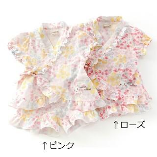 クーラクール(coeur a coeur)のクーラクール 甚平100ローズ(甚平/浴衣)