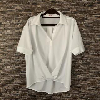 バイバイ(ByeBye)の新品未使用 白シャツ (シャツ/ブラウス(半袖/袖なし))