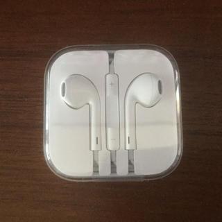 アイフォーン(iPhone)のiPhone 新品 イヤホン(ヘッドフォン/イヤフォン)
