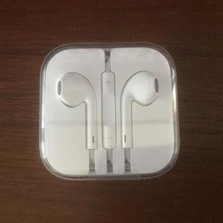 アイフォーン(iPhone)のiPhone イヤホン 新品(ヘッドフォン/イヤフォン)