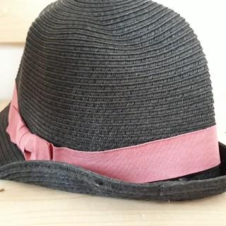 ジーユー(GU)の女児おしゃれ麦わら帽子【GU】(帽子)