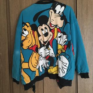ディズニー(Disney)の古着リバーシブル ディズニージャケット(ブルゾン)