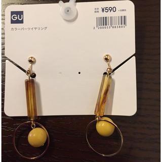 ジーユー(GU)の新品✨GUのイヤリング(イヤリング)