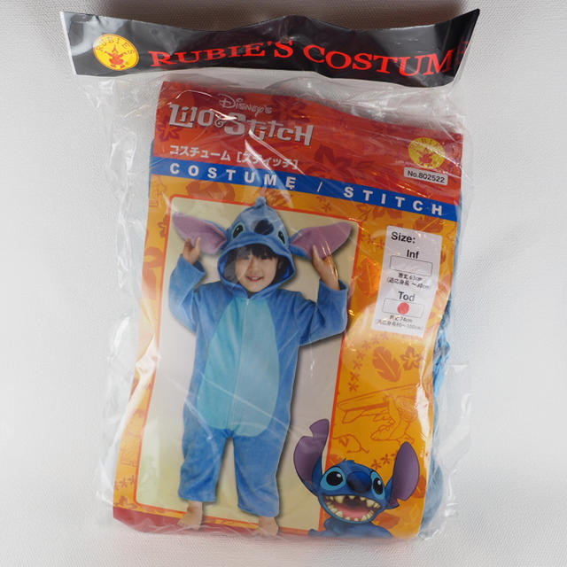 STITCH(スティッチ)のなりきり スティッチ コスプレ ディズニー コスチューム 衣装 エンタメ/ホビーのコスプレ(衣装)の商品写真