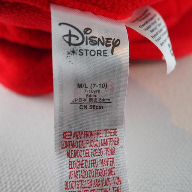 Disney(ディズニー)のカーズ マックイーン フリース帽子 キャップ ディズニー キッズ/ベビー/マタニティのこども用ファッション小物(帽子)の商品写真