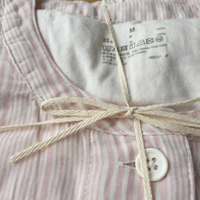 オーガニックコットンを使用した柔らかな風合いの着心地のよいパジャマです。