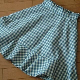 リズリサ(LIZ LISA)のチェックスカート(ひざ丈スカート)