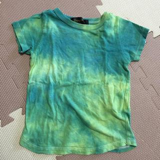 ノックアウト(KNOCKOUT)のタイダイ柄 半袖 Tシャツ 90cm(Tシャツ/カットソー)
