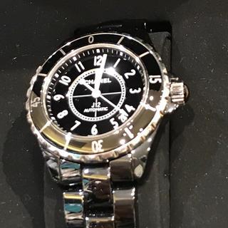 シャネル(CHANEL)のシャネル CHANEL j12 腕時計 セラミック 美品(腕時計(アナログ))