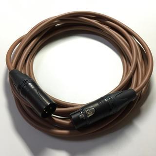 CANARE L4E6S 5m 茶色 バランスマイクケーブル 中古(ケーブル)