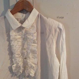 ロキエ(Lochie)のvintage…blouse (シャツ/ブラウス(長袖/七分))