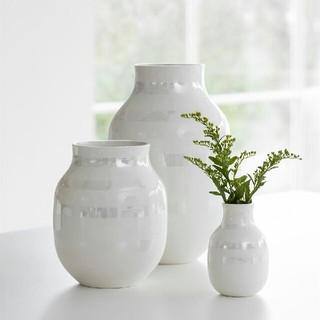ケーラー(Kahler)のケーラー オマジオ フラワーベース パール ラージ(花瓶)