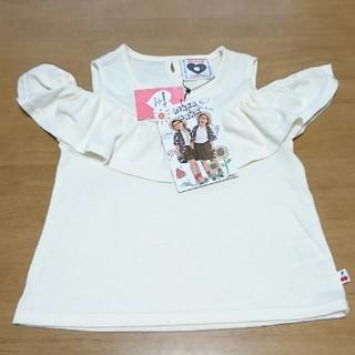 シマムラ(しまむら)の110㎝ 新品 しまむら 肩あきTシャツ (Tシャツ/カットソー)