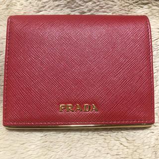 プラダ(PRADA)のプラダ PRADA 財布 二つ折り (財布)