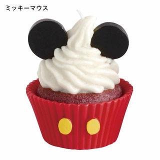 ディズニー(Disney)のディズニーカップケーキキャンドル ミッキー 2個セット(キャンドル)
