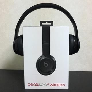 ビーツバイドクタードレ(Beats by Dr Dre)のBeats solo3 wireless black 訳あり(ヘッドフォン/イヤフォン)