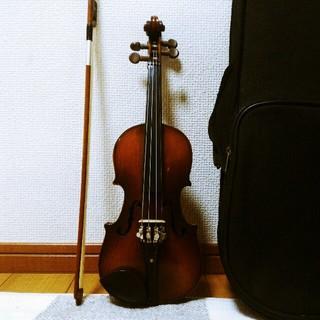 【単盤虎杢】鈴木 No11 バイオリン 1/10(ヴァイオリン)