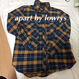 アパートバイローリーズ(apart by lowrys)のブロックチェックシャツ(シャツ/ブラウス(長袖/七分))