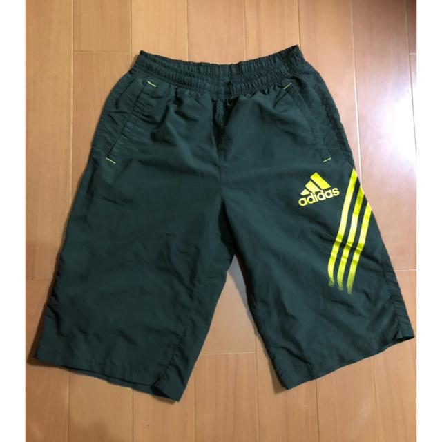 adidas(アディダス)のアディダス ハーフパンツ   160cm キッズ/ベビー/マタニティのキッズ服 男の子用(90cm~)(パンツ/スパッツ)の商品写真