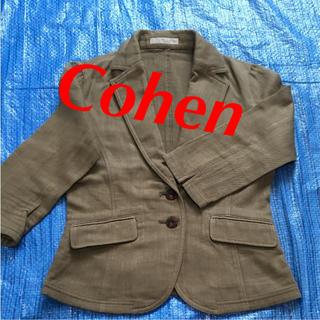 エムコーエン(M.Cohen)のCohen サマー ジャケット コットン カーキ M(テーラードジャケット)