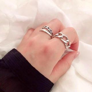 シルバー925 chain ring(リング(指輪))