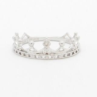 ノジェス(NOJESS)のNOJESS ノジェス ete ピンキーリング ダイヤモンド(リング(指輪))