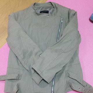 アニオナ(Agnona)のtwin setジャケット(ミリタリージャケット)