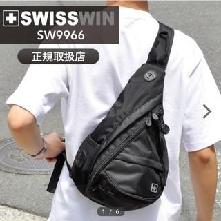 スイスウィン(SWISSWIN)の【新品未使用✨未開封】SWISSWIN ボディバッグ (ショルダーバッグ)
