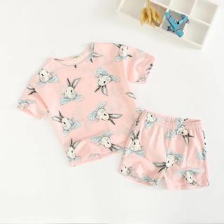 メルヘンうさぎのパジャマ100(パジャマ)