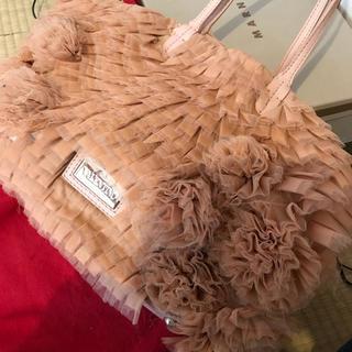 正規品!バレンティノ コサージュ付きチュールのバッグ