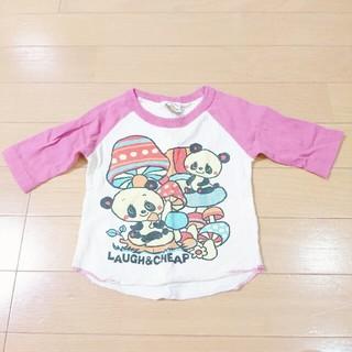 ラフアンドチープ(LAUGH & CHEAP)のラフアンドチープ Laugh&cheap 80cm 5部袖 肩ボタンなし (Tシャツ/カットソー)