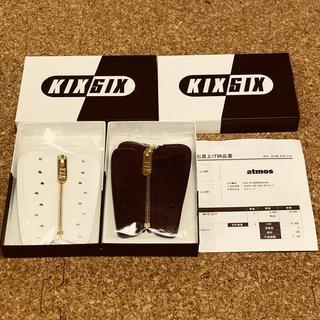 アトモス(atmos)のKIXSIX QUICK RELEASE ZIPPER 白&黒セット(スニーカー)