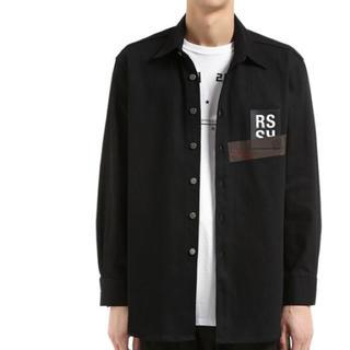 ラフシモンズ(RAF SIMONS)のraf simons コットンデニムシャツ ジャケット(Gジャン/デニムジャケット)