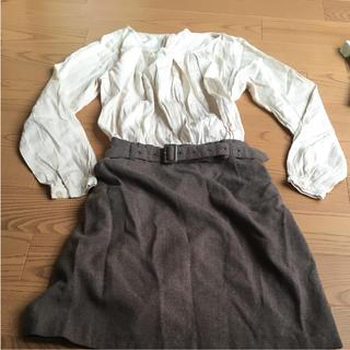 ベルメゾン(ベルメゾン)の授乳服 ワンピ ベルメゾン(マタニティワンピース)