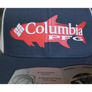 コロンビア(Columbia)のコロンビアスポーツ【PFG】【SNAPBACK】FISH ロゴ入りメッシュCAP(ウエア)