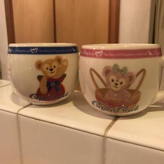 ダッフィー(ダッフィー)のダッフィー&シェリーメイのペアカップ(キャラクターグッズ)