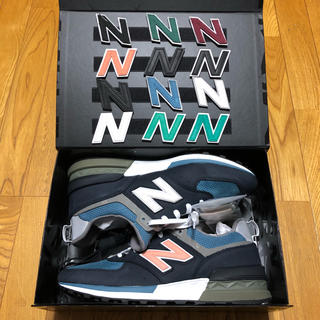 ニューバランス(New Balance)の30 KITH×NEW BALANCE MS574TH RONNIE FIEG (スニーカー)