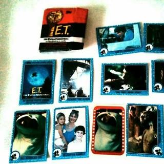 ★ハリウッド映画 E.T 付録カードセット★(その他)