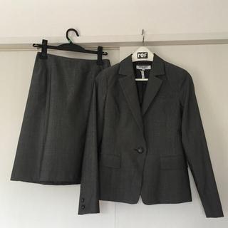 ナチュラルビューティーベーシック(NATURAL BEAUTY BASIC)のナチュラルビューティベーシック 春夏 スーツ グレー Sサイズ(スーツ)