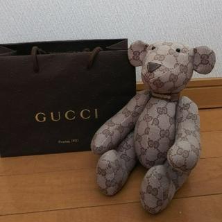 グッチ(Gucci)のGUCCI◇グッチ◇テディベア(ぬいぐるみ)